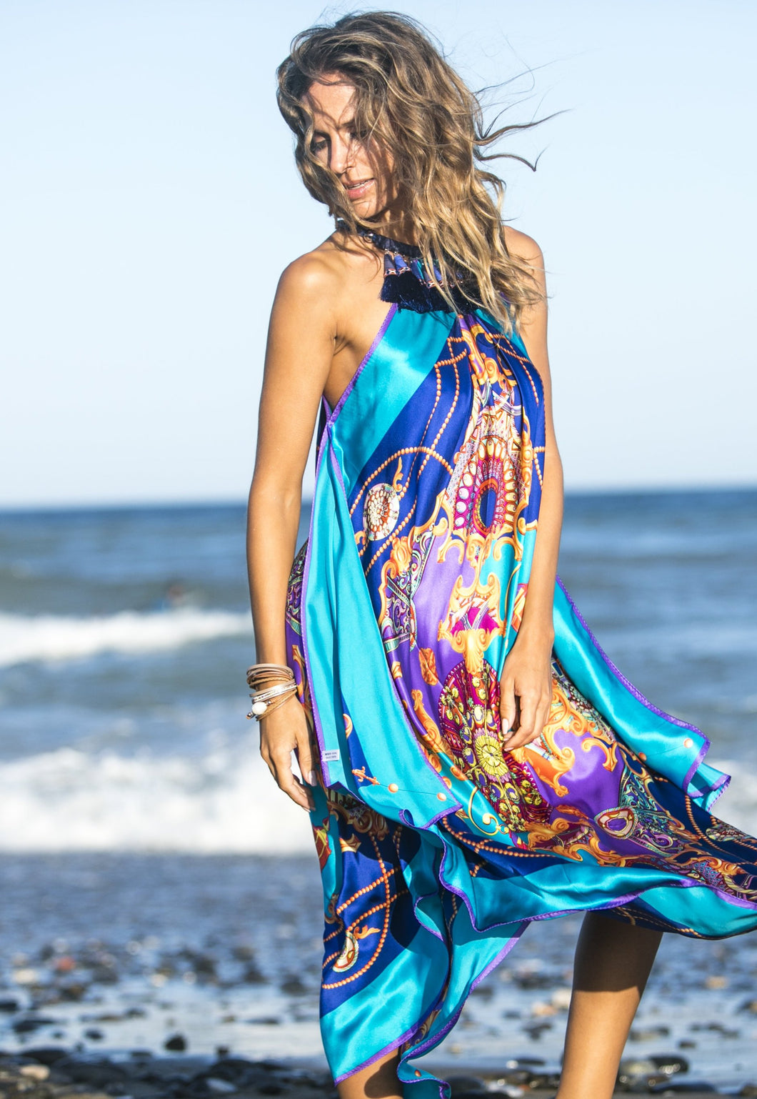 MYKONOS Silk Dress
