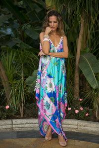 MIAMI Silk Dress