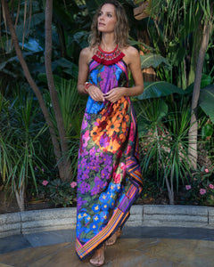 FLORIDA Silk Dress