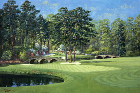 Giclee Augusta 11th Hole