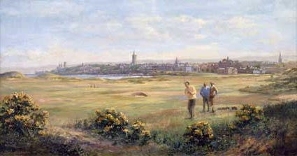 View of town. St. Andrews