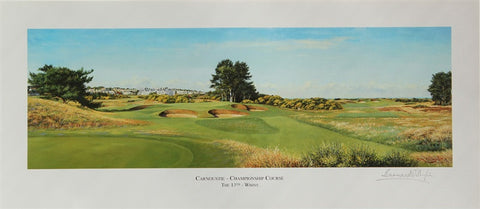 Lithograph 13th Hole - Carnoustie