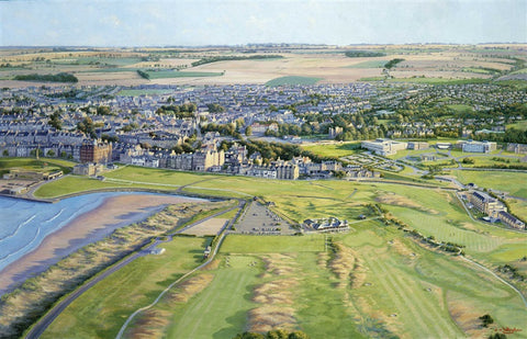 Birds-eye-view St. Andrews
