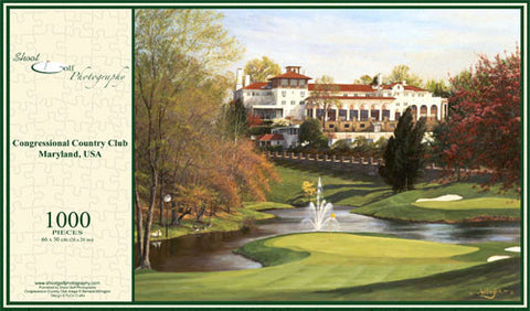 Congressional Country Club Jigsaw