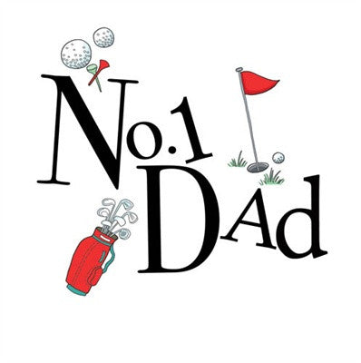 No.1 Dad (Father's Day)