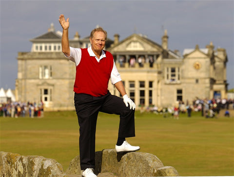 Jack Nicklaus bids farewell at the Open in 2005