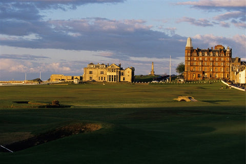 Views of 17th green & 18th hole at St. Andrews