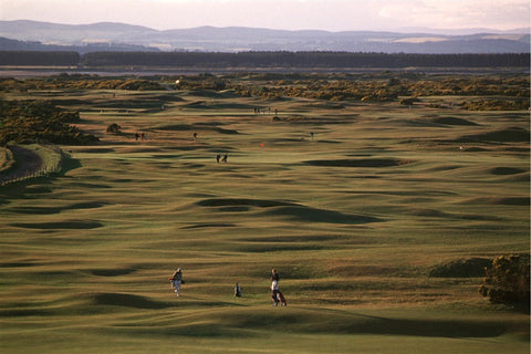 "General scene of the ""Old Course"" St. Andrews"