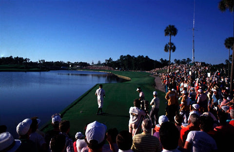 Payne Stewart on the 18th at TPC Sawgrass - 1998