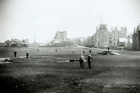 St Andrews scene around 1900