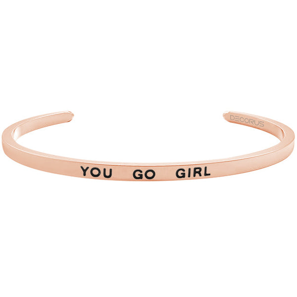 YOU GO GIRL - Decorus Collection