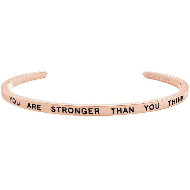YOU ARE STRONGER - Decorus Collection