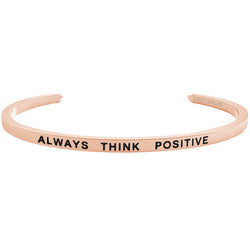 ALWAYS THINK POSITIVE - Decorus Collection