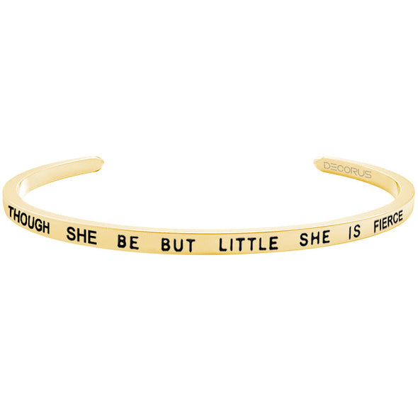 THOUGH SHE BE BUT LITTLE - Decorus Collection