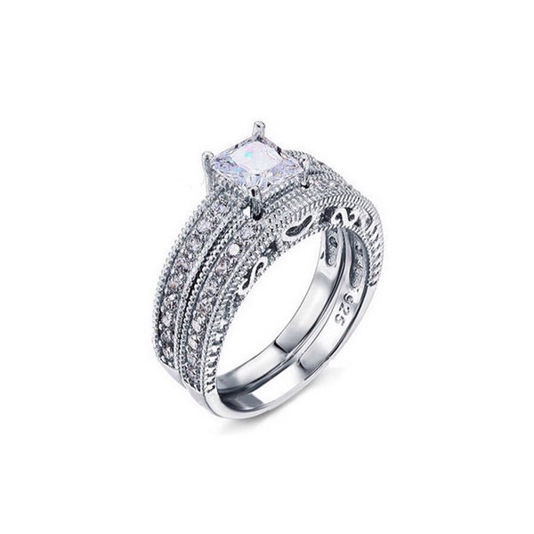 Allure 925 Sterling Silver Ring - Decorus Collection