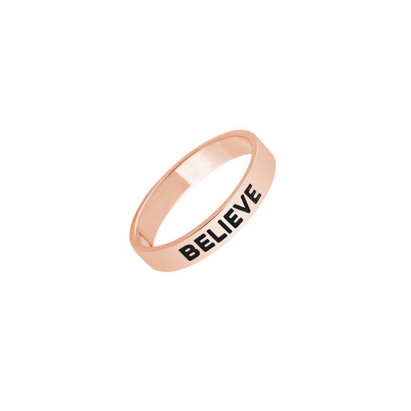 BELIEVE RING - Decorus Collection