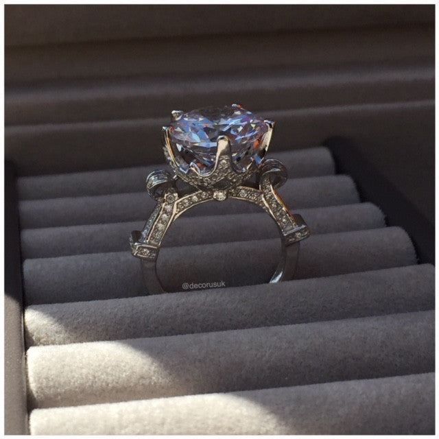 925 Sterling Silver Luxury Ring - Decorus Collection