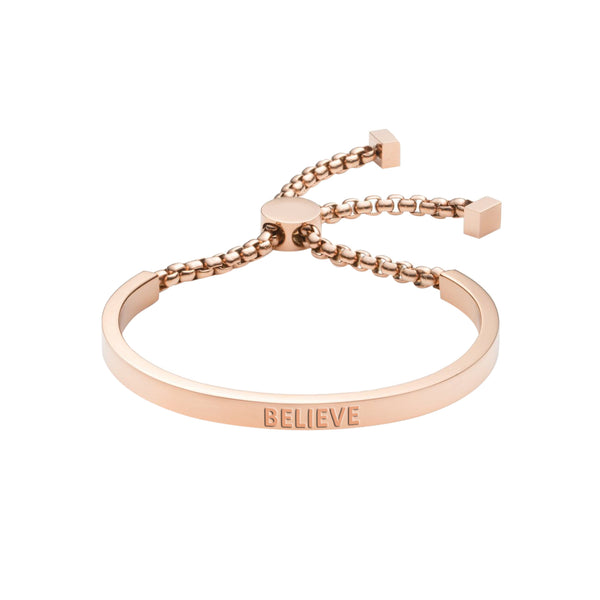 BELIEVE CHAIN BRACELET - Decorus Collection