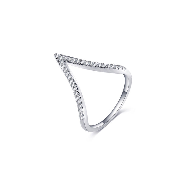 Chevron Ring - Decorus Collection