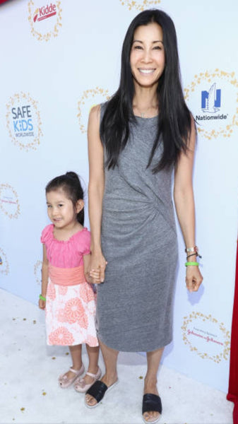 Noko Baby on the Red Carpet on Lisa Ling's Daughter