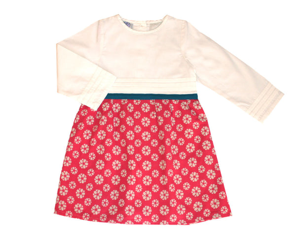 Niko Baby Ogawa Dress for baby, toddler, girls in Magenta