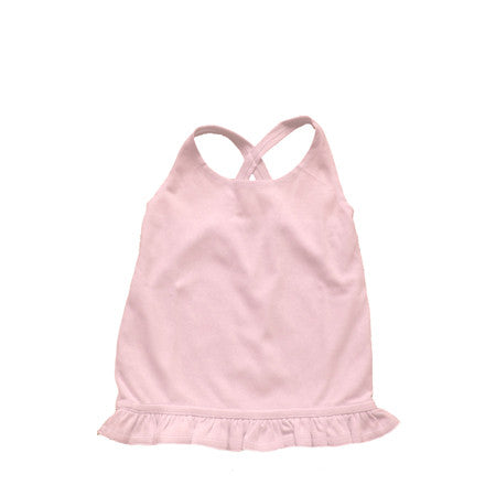 Noko Baby Brand Pink Tori Tank top in soft Peruvian cotton