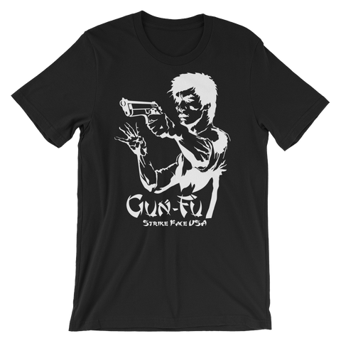 Gun Fu Dark Short-Sleeve Unisex T-Shirt