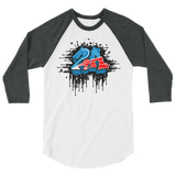 2A 3/4 sleeve raglan shirt