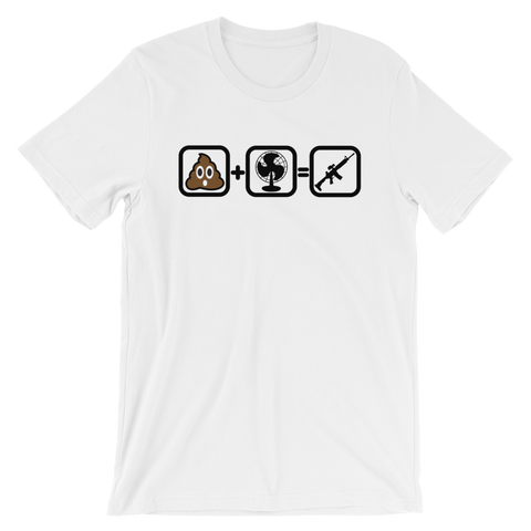 SHTF Equation Short-Sleeve Unisex T-Shirt