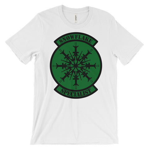 Tactical Special Snowflakes Unisex short sleeve t-shirt