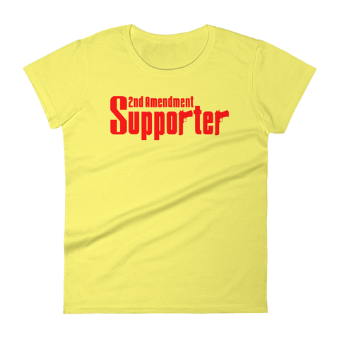 2A Supporter Women's short sleeve t-shirt