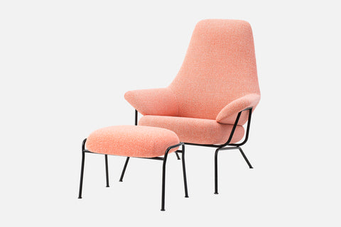 Hai Lounge Chair + Ottoman
