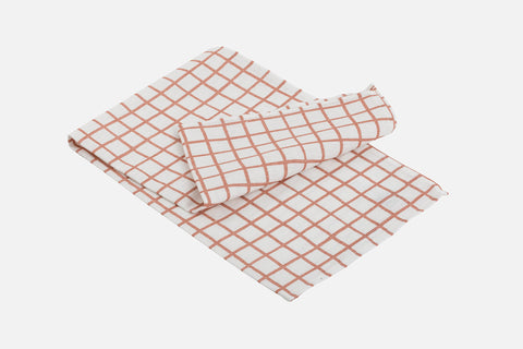 Grid Tea Towel