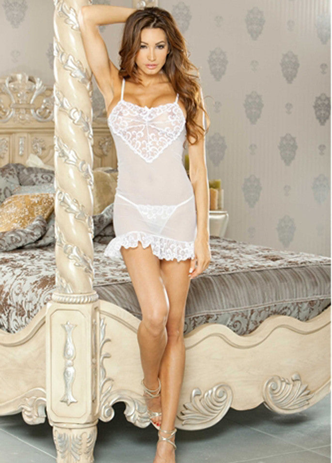 Candy Wrappers Lingerie - Fantasy Lingerie Chemise & G-String Set
