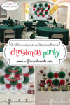 A very Christmasy Homeowner's Associations Party