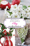 May Flowers: Lily of the Valley & Hawthorn