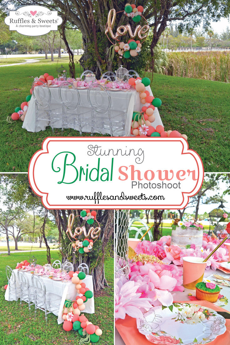 Spring Bridal Shower Photoshoot