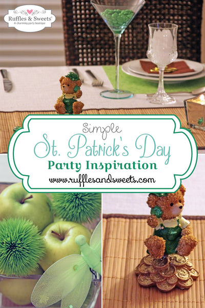 Simple St. Patrick's Day Party Inspiration