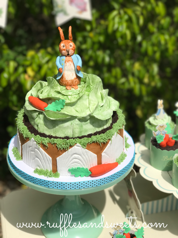 peter rabbit, easter, baby shower, first birthday