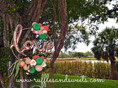 love balloon, miami, party planner