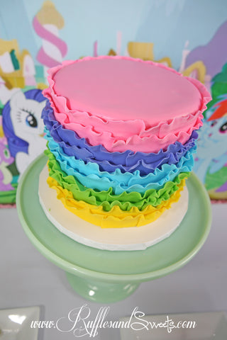 My Little Pony Friendship is Magic Birthday Party Ruffles Sweets