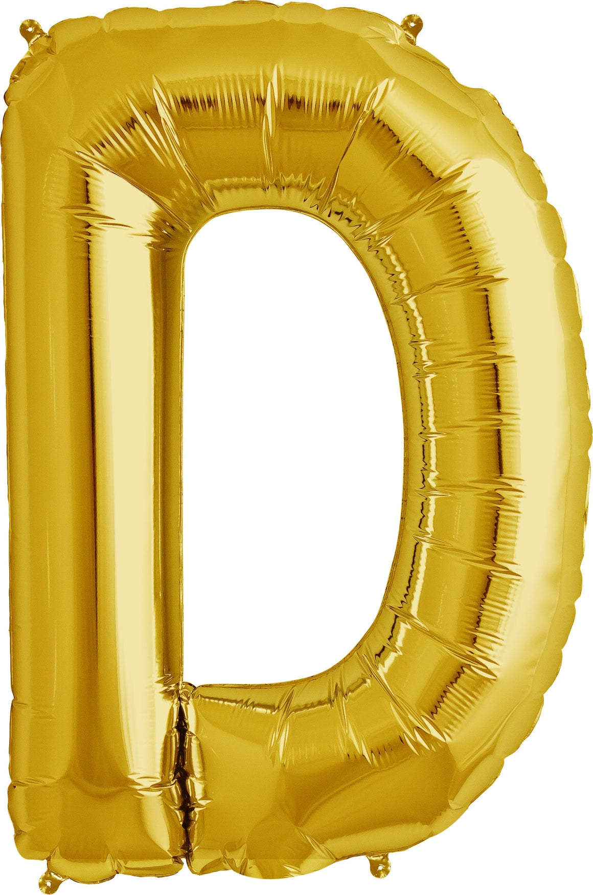 "D - 16"" Gold Balloon"