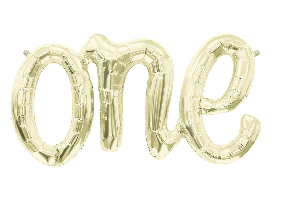One Script Gold Balloon