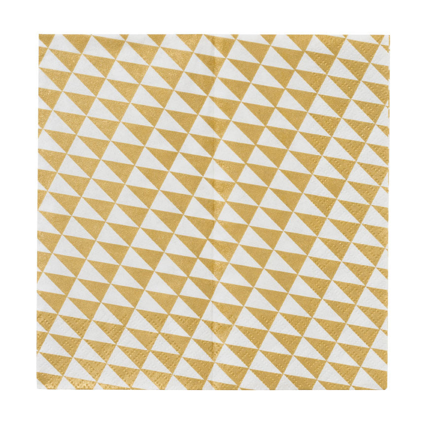 Geometric 20 Party Napkins