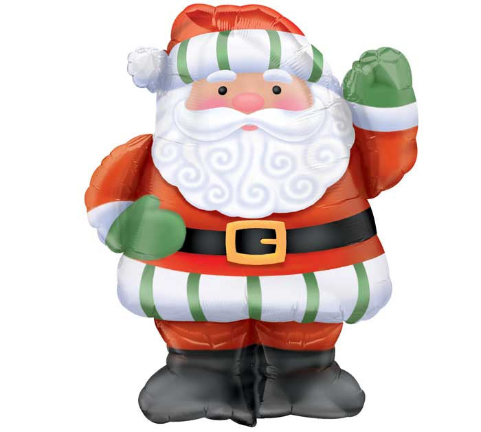 "28"" Christmas Santa Balloon"