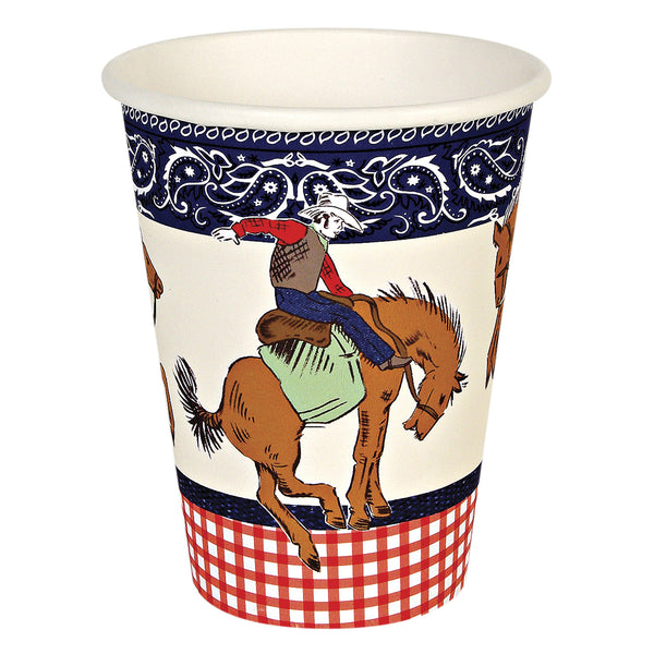 Howdy Cowboy 12 Party Cups