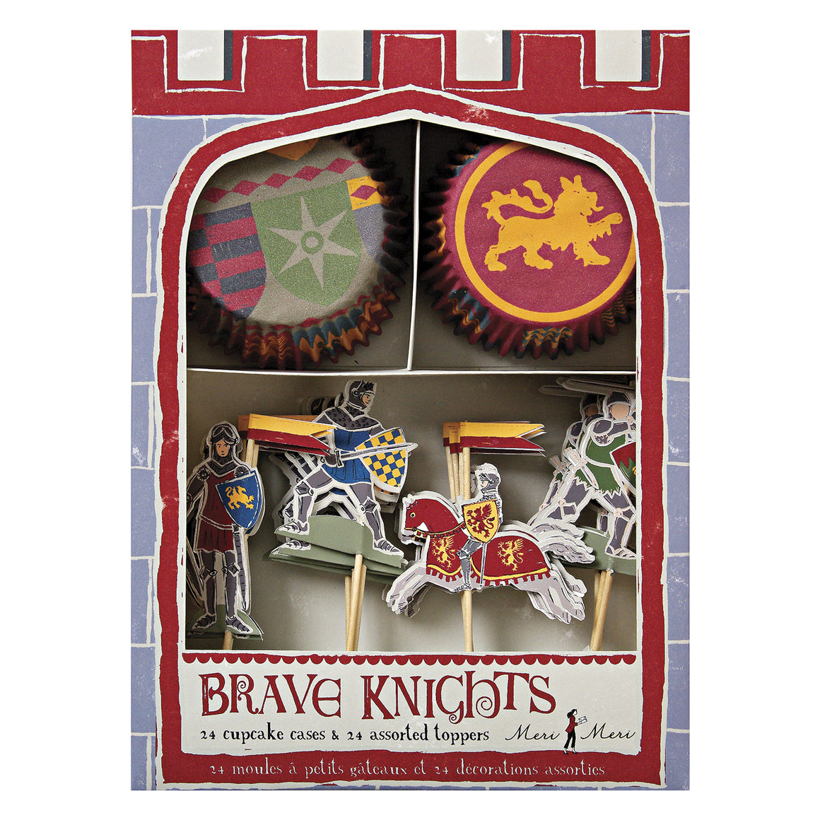 Brave Knights 24 Cupcakes Kit