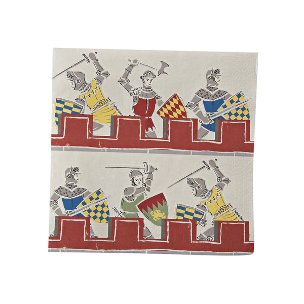Brave Knights 20 Small Napkins