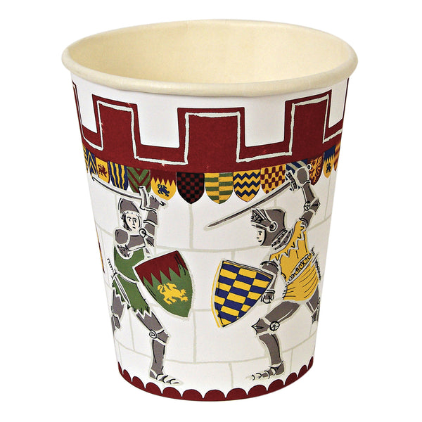 Brave Knights 12 Party Cups