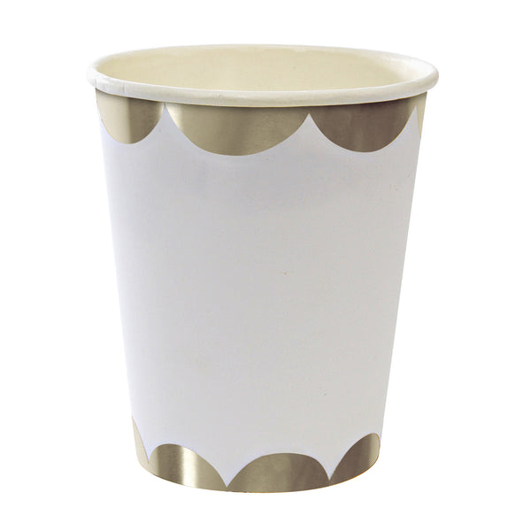 Toot Sweet Silver 8 Party Cups